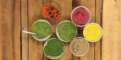 Atelier de cuisine immersive au Champ du Chaudron : tartinades et pestos