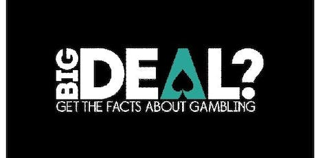 Young People and gambling accredited training for professionals  tickets