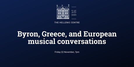 Byron, Greece, and European musical conversations tickets
