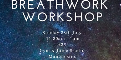 Breathwork Workshop - MANCHESTER  tickets