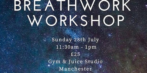 Breathwork Workshop - MANCHESTER