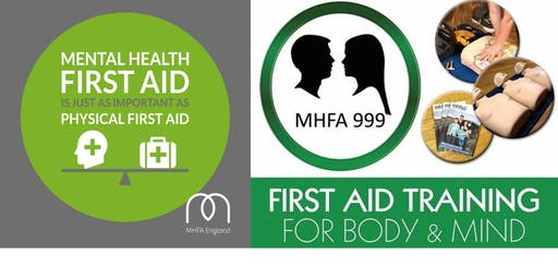 Mental Health First Aid (Adult 1 Day MHFA Champion) - MHFA England Accredited
