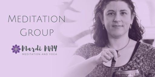 Meditation & Mindfulness Group Wednesdays 12-1pm @ Woodcroft