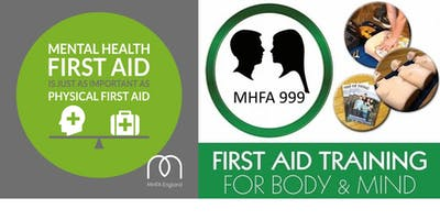 Mental Health First Aid Training Course (Adult 2 Day)- MHFA England Accredited