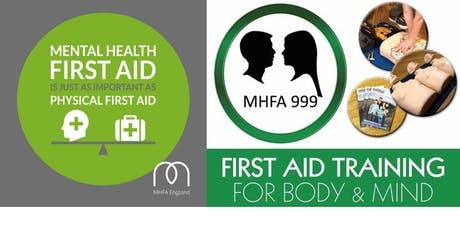 Mental Health First Aid Training Course (Adult 1 Day)- MHFA England Accredited tickets