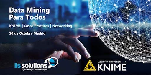 Data Mining Para Todos - KNIME, Casos Prácticos y Networking