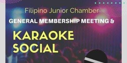July GMM + Karaoke Social
