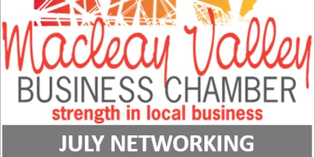 Macleay Valley Business Chamber July Networking tickets