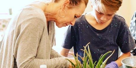 parent and child large succulent bowl workshop  tickets