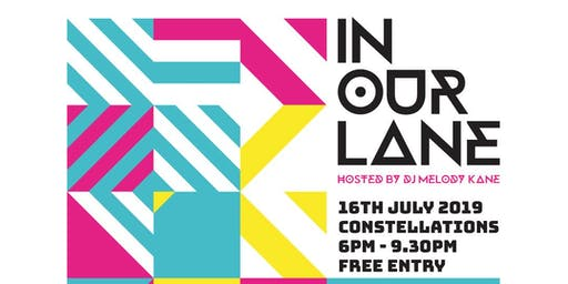 In Our Lane - Female DJ Event