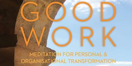 Good Work: a talk by Fr Laurence Freeman OSB tickets
