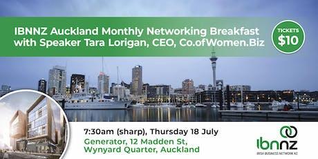 IBNNZ Networking Breakfast  tickets