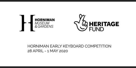 Horniman Early Keyboard Competition: Masterclasses  tickets