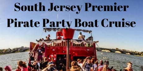 South Jersey Premier Pirate Party Boat Cruise tickets