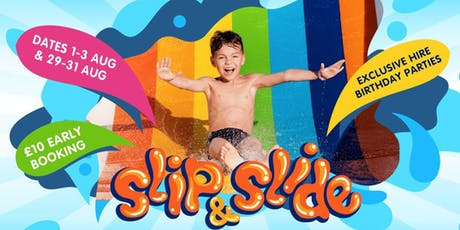 Slip & Slide @ Sandown Sports and Ski tickets