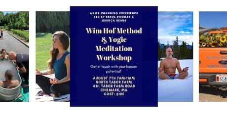 Wim Hof and Yogic Meditation Workshop tickets