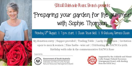 Preparing your garden for the summer with Sophie Thomson