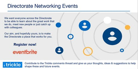 Digital Directorate Networking Events tickets