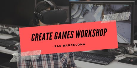 #CreateGames Workshop entradas