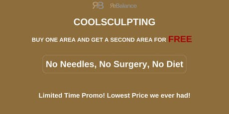 Introducing CoolSculpting Plus-Freeze your Fat Away tickets