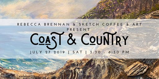 Exhibition Opening - Coast and Country by Rebecca Brennan