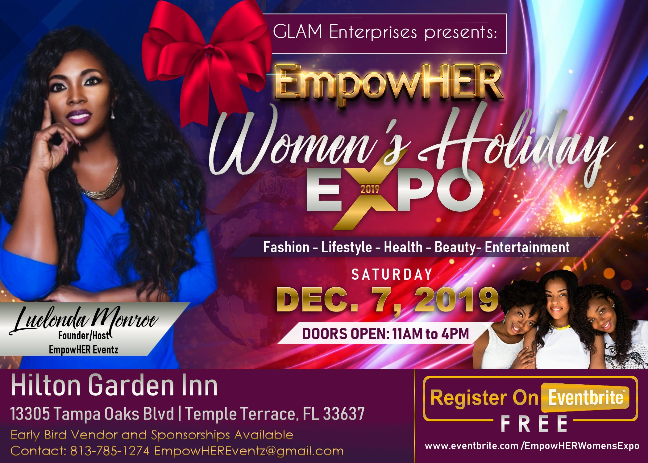 Empow Her Holiday Women S Expo 2019 7 Dec 2019
