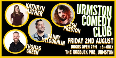 Friday Night Comedy at Urmston Comedy Club tickets