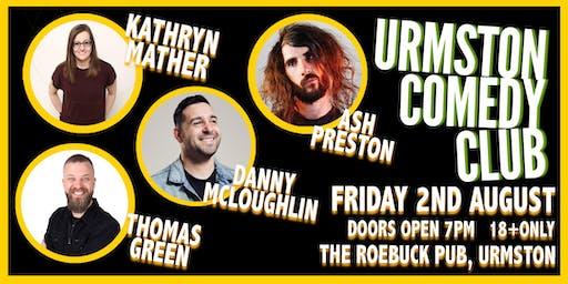 Friday Night Comedy at Urmston Comedy Club