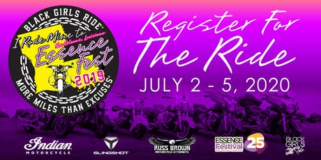 Black Girls Ride to Essence Fest 2020 tickets