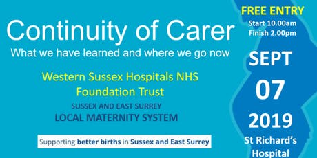 Continuity of Carer - what we have learned and where we go now tickets