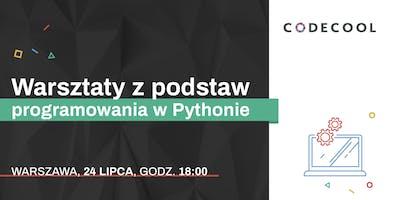 Nauka Programowania + Python by Codecool Warszawa 24.07