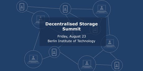 Decentralised Storage Summit Tickets