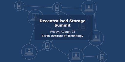Decentralised Storage Summit