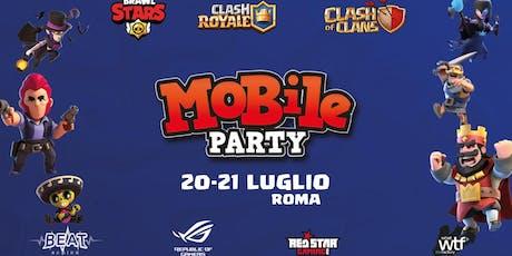 Mobile Party 20-21 Luglio tickets