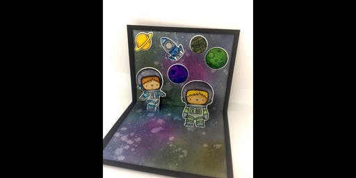 Space Pop-up Card
