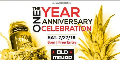 Old Major One Year Anniversary Party