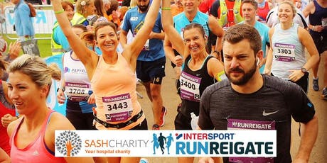 Run Reigate for East Surrey Hospital Neonatal Unit / SASH Charity tickets