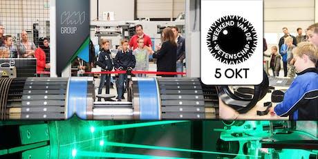 VMI Fabriekstour tickets