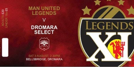 Manchester United Legends Charity Football Match tickets