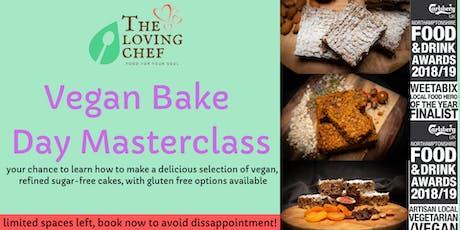 Vegan Bake Day Masterclass tickets