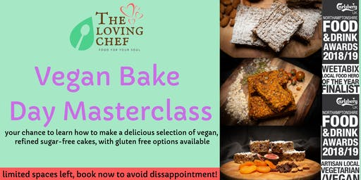 Vegan Bake Day Masterclass