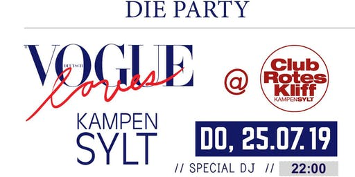Vogue loves Kampen - 2019 Club Rotes Kliff -