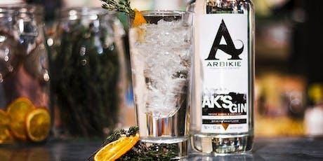 FRINGE Scottish Gin Dinner with Arbikie tickets