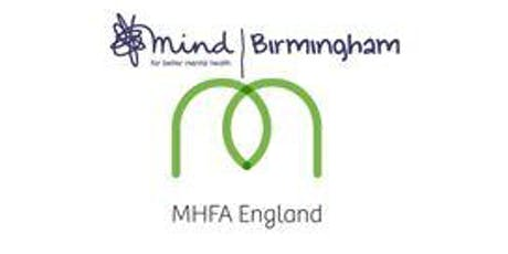 MHFA Two Day Adult Course Monday 2nd & Tuesday 3rd September 2019 tickets
