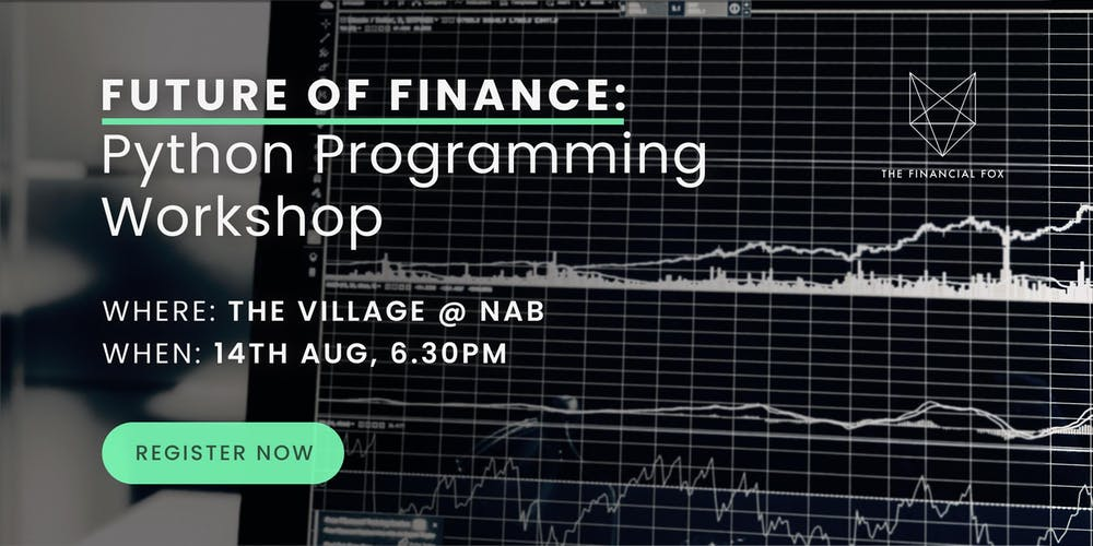 Future of Finance: Python Programming Workshop