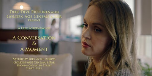 A Conversation and A Moment Screening