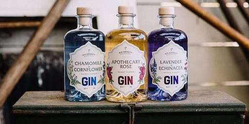 Meet The Maker of Old Curiosity Gin: Talk & Tasting