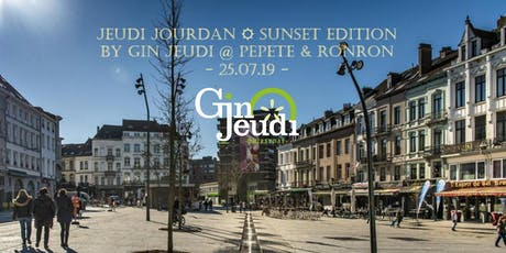 ☼ Jeudi Jourdan ☼ Sunset Edition by Gin Jeudi / Pepete & Ronron tickets