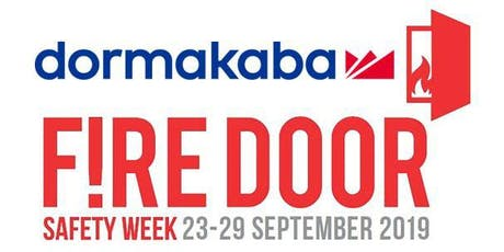 Fire Door Safety Week - CPD Accredited Seminar tickets