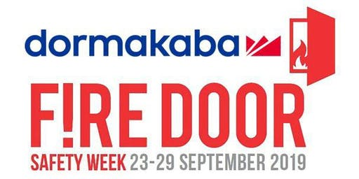 Fire Door Safety Week - CPD Accredited Seminar